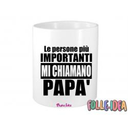 "Portapenne Idea Regalo per il papà \""le persone più importanti mi chiamano papà\\"" prtpnpp006"