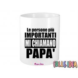 """Portapenne Idea Regalo per il papà \\""""le persone più importanti mi chiamano papà\\"""" prtpnpp006"""