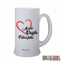 Boccale Idea Regalo per il papà -al mio papà- bclpp001