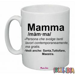 Tazza Mug Idea Regalo per la Mamma -dictionary- tzmm001
