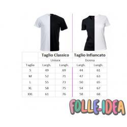 T-Shirt Idea Regalo per il papà -papà per scelta, cuoco per passione- tspp001
