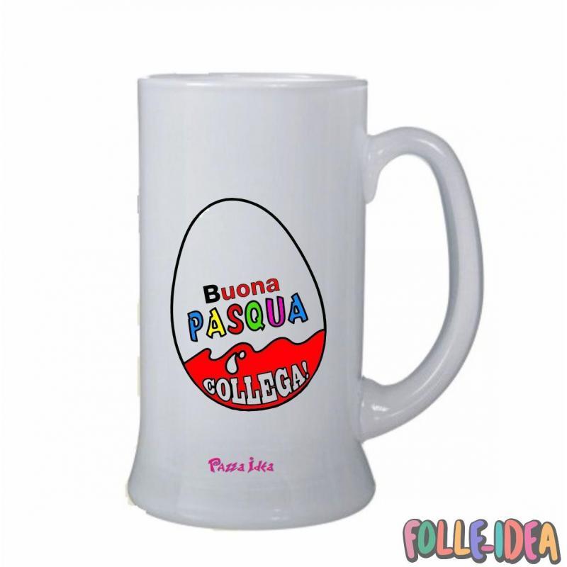 Boccale Idea Regalo per pasqua -Collega- bclpsq003