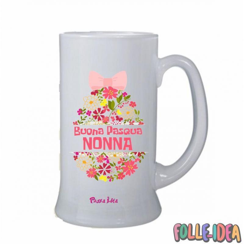 Boccale Idea Regalo per pasqua -Nonna- bclpsq009