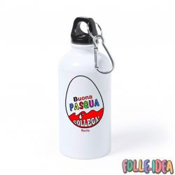 Borraccia Idea Regalo per pasqua -collega- brccpsq003