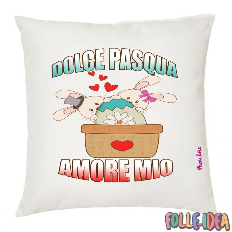 Cuscino Idea Regalo per pasqua -amore mio- csnpsq002