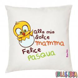 Cuscino Idea Regalo per pasqua -mamma- csnpsq008