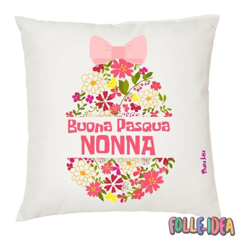 Cuscino Idea Regalo per pasqua -nonna- csnpsq010