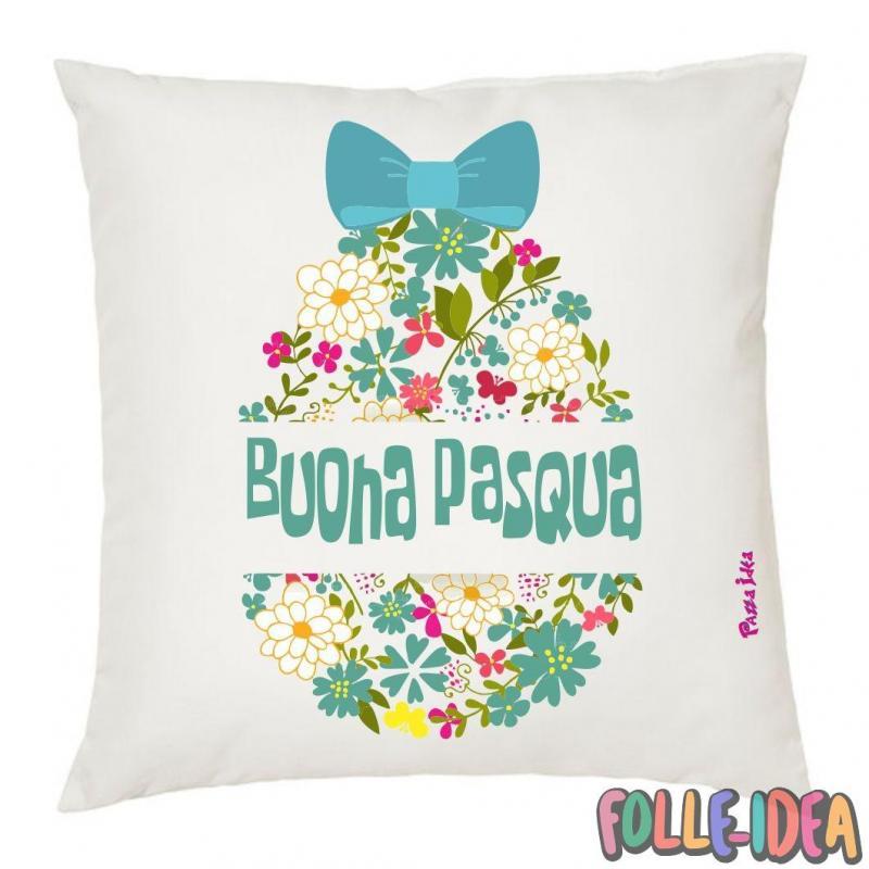 Cuscino Idea Regalo per pasqua -buona pasqua- csnpsq012