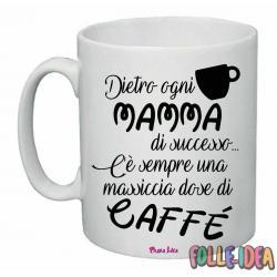 """Tazza Mug Idea Regalo per la Mamma \\""""dose caffè\\"""" tzmm008"""