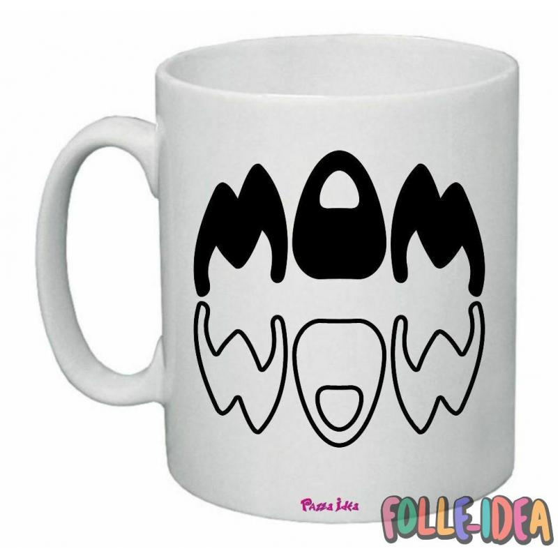 "Tazza Mug Idea Regalo per la Mamma \""mom\\"" tzmm011"