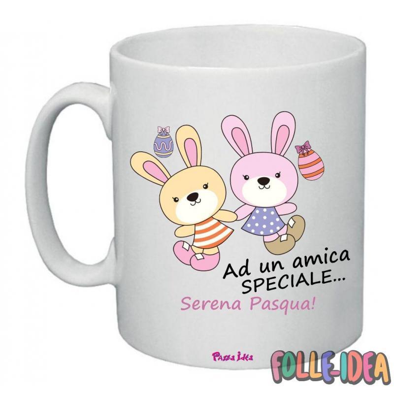 Tazza Mug Idea Regalo per la pasqua -amica speciale- tzpsq001