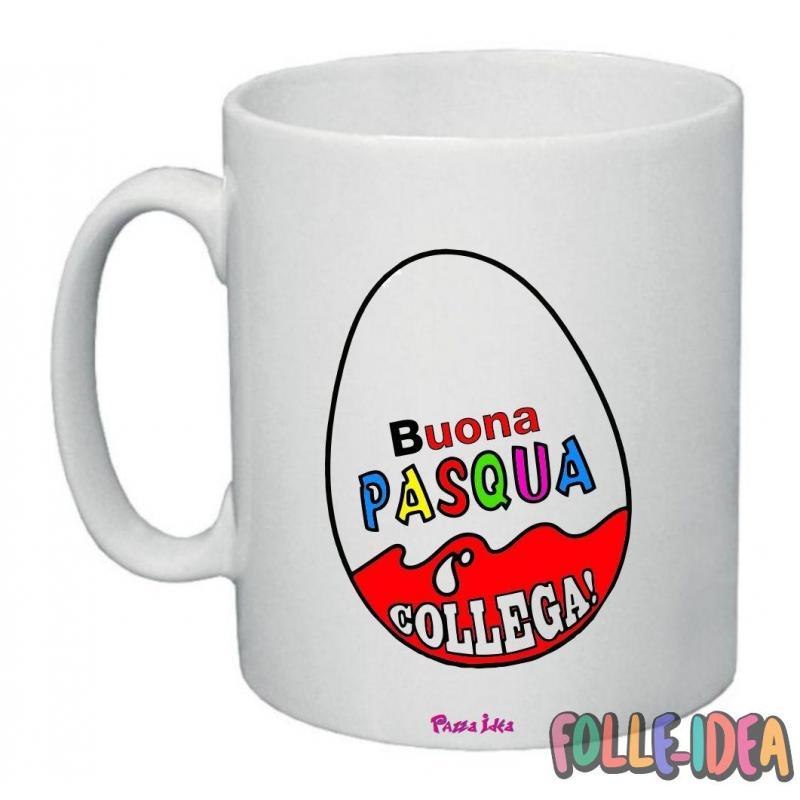 Tazza Mug Idea Regalo per la pasqua -collega- tzpsq003