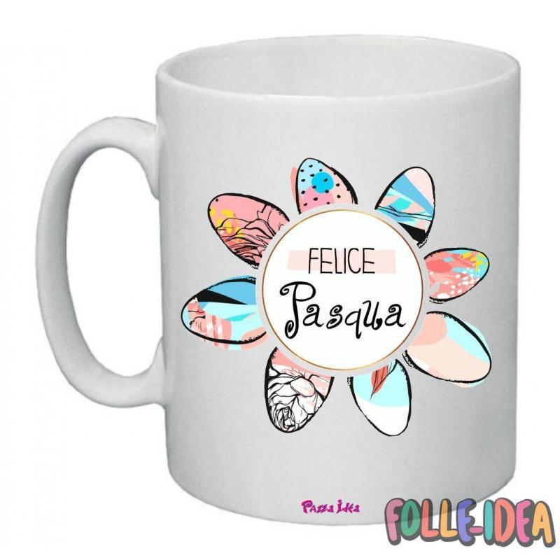 Tazza Mug Idea Regalo per la pasqua -felice pasqua- tzpsq007