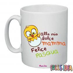 Tazza Mug Idea Regalo per la pasqua -mamma- tzpsq008