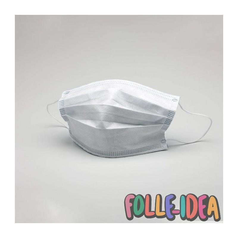 Mascherina chirurgica lavabile e riutilizzabile in TNT (pacco da 10 pezzi) mascherinatnt