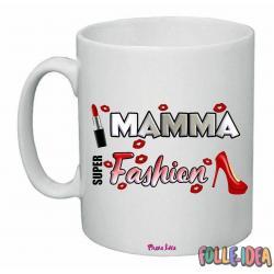 """Tazza Mug Idea Regalo per la Mamma \\""""fashion\\"""" tzmm013"""