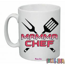 """Tazza Mug Idea Regalo per la Mamma \\""""chef\\"""" tzmm014"""