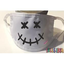 Copri Mascherina Fashion - SMILE HORROR - Covid19-06