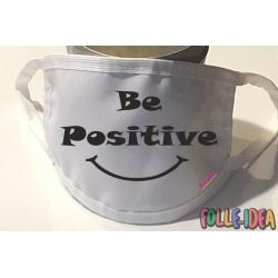 Copri Mascherina Fashion - BE POSITIVE - Covid19-07