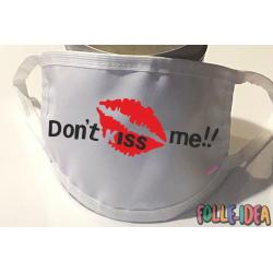 Copri Mascherina Fashion - DO NOT KISS ME- Covid19-16