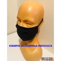 Mascherina Moda Protettiva - Fiore - Covid19-23