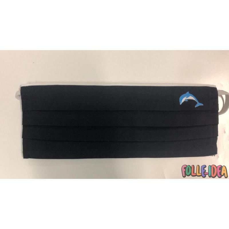 Mascherina Moda Protettiva Personalizzata - Delfino - Covid19-27